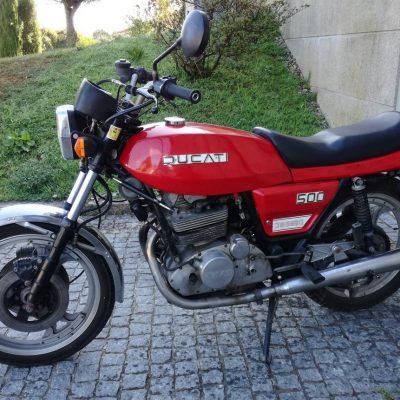 DUCATI 500 DEMO 1980