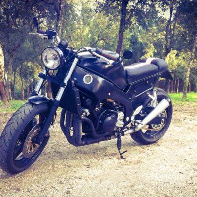 Yamaha BlackCat 600