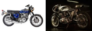 honda cb 750 four by Raccia Motorcycles