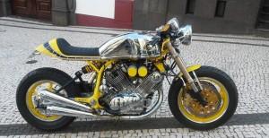 Yamaha-Virago-XV-1100cc-Cafe-Racer