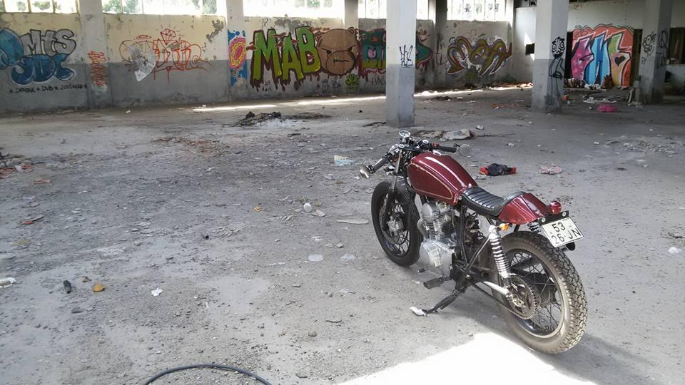 Yamaha sr 125 paulo martins aka vargas caf racer pt for Martins yamaha ocala